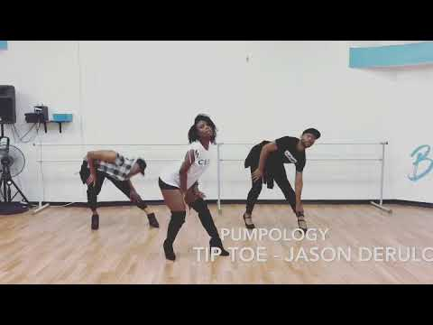 PUMPOLOGY | TIP TOE | JASON DERULO