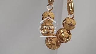 Jewelry NUVO Cross Flower Cutting Ball Bracelet 01
