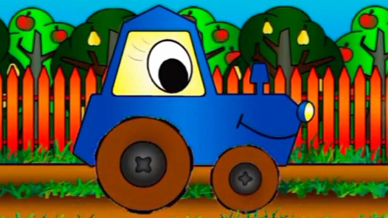 apprendre les formes en construisant un tracteur dessins anim s en fran ais youtube. Black Bedroom Furniture Sets. Home Design Ideas