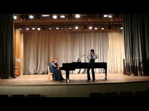 Концерт камерной и вокальной музыки Марины Сафроновой (сопрано) часть 2