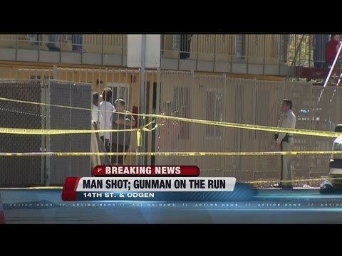 Man shot near 14th and Fremont streets