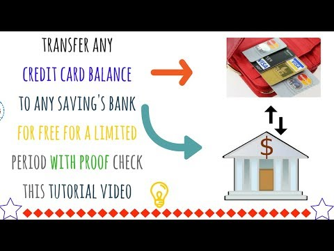 How to transfer credit card balance to debit card