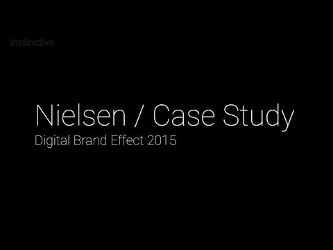 Instinctive - Case Study - Nielsen Digital Brand Effect 2015