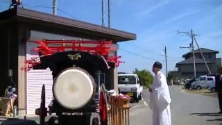 2015年 桑名市多度町西福永石取祭車新造披露