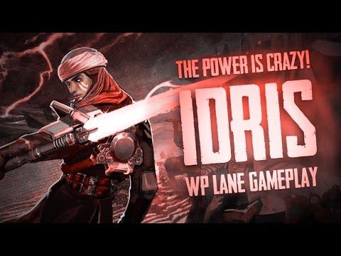 Vainglory Gameplay - Episode 260: IDRIS GAMEPLAY!! Idris  WP  Lane Gameplay [2.0 PBE]