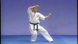 Karate kyokushin kata pinan sono 1,2,3,4,5(kyokushin kata pina sono ichi,ni,san,yon and go., 2007-08-13T05:24:04.000Z)