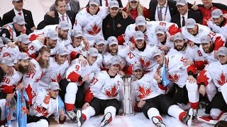 2016 Team Canada World Cup of Hockey Champions Tribute