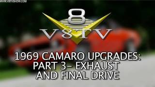 1969 Camaro SS396 Upgrades: MagnaFlow Exhaust, Tune, and Drive Video!  Part 3