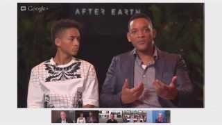 After Earth Google Hangout