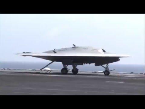 Беспилотник X-47B