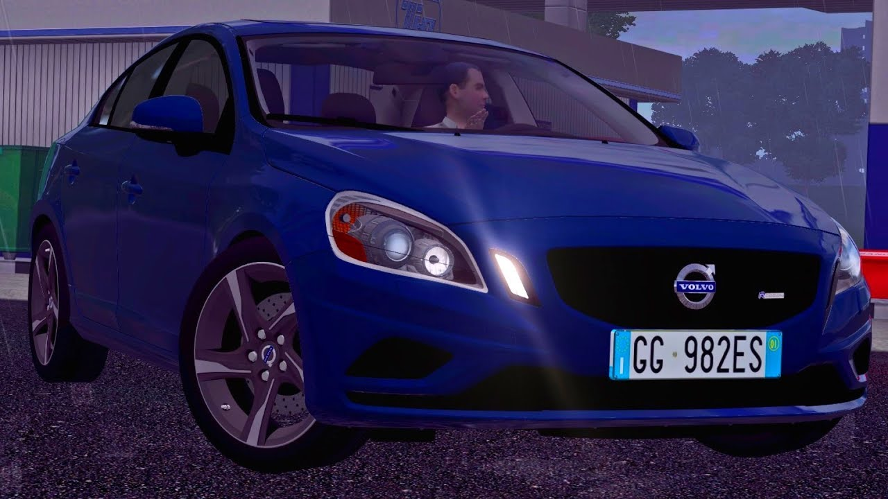 383cba84073 City Car Driving 1.5.4 Volvo S60 R-Design Rain - G27 HD [1080p][60fps]