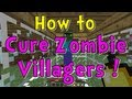 Minecraft Quick Tips How To Cure Zombie Villagers mp3