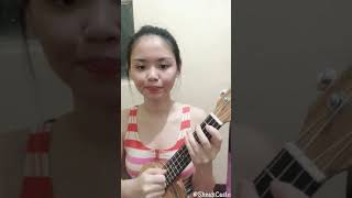 WAG NA WAG MONG SASABIHIN - Kitchie Nadal | Ukulele Cover with Chords by Shean Casio