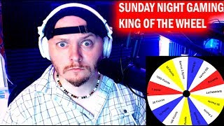 Anything Goes ! WHEEL Night ! Sunday Gaming - Mad Mike Hughes