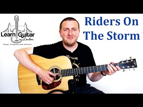 Riders On The Storm - Easy Song Guitar Lesson - The Doors - How To Play