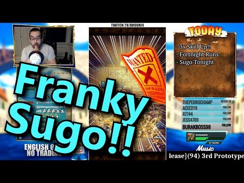 (150 Gems!!) Legend Franky Adventure Mode Sugofest Pulls | One Piece Treasure Cruise