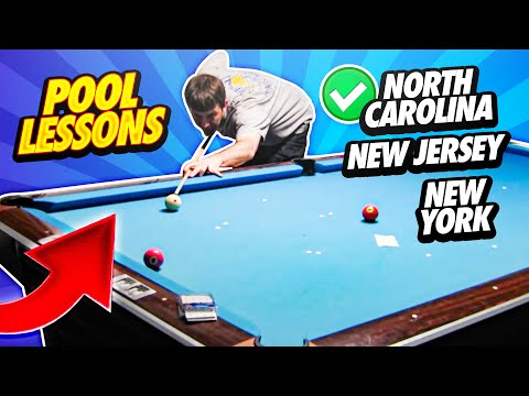 Pool Lessons - North Carolina, New Jersey, New York
