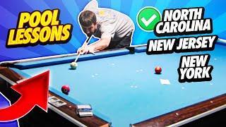 Pool Lessons - North Carolina, New Jersey, New York