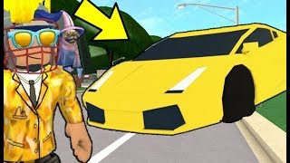 I BOUGHT THE MOST EXPENSIVE CAR! Roblox Welcome to Bloxburg 6. Part
