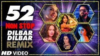 Download Lagu 52 Non Stop Dilbar Dilbar Remix By Kedrock SD Style Super Hit Songs Collection 2018 T-Series MP3
