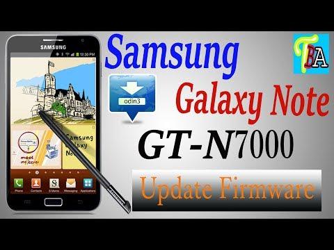 Samsung Galaxy Note Gt-N7000 Upgrade Firmware & Flash (2018) - YouTube