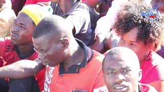 """Watch full video Chamisa MDC executive promises nation """"peaceful radical"""" reaction in Masvingo"""