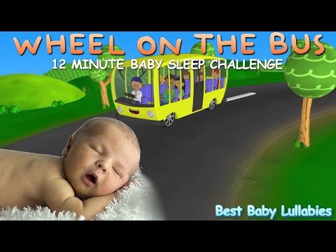 Wheels On The Bus  Lullaby Lyrics Baby Songs To Put A Baby To Sleep Lyrics-Baby Lullaby Music  ♥