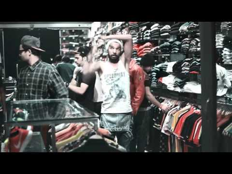 VMICHAEL CREW  FREESTYLE IN THE SHOP