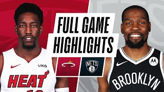HEAT at NETS | FULL GAME HIGHLIGHTS | January 23, 2021