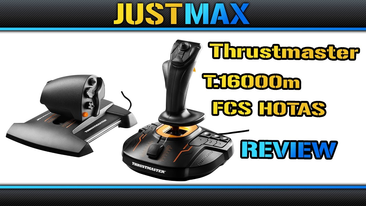 Thrustmaster T 16000m FCS Hotas worth buying? [REVIEW]