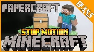 Minecraft/PaperCraft: Stop Motion Animation Ep. 3,4,5