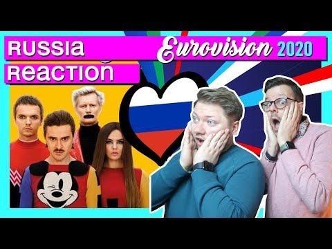 Russia Eurovision 2020 // REACTION VIDEO // Little Big - Uno