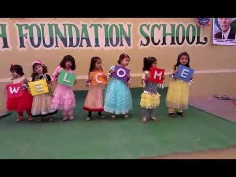Welcome Song Performance by Children | Welcome Performance 2017
