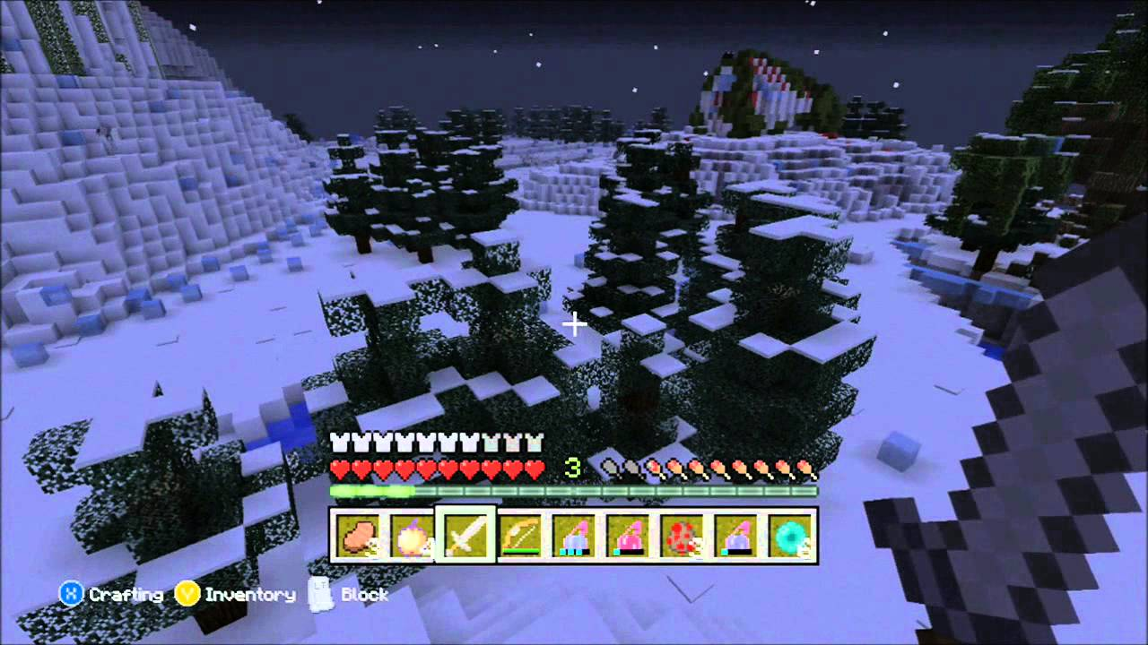 Minecraft Xbox 360 - Hunger Games w/Subscribers - JURASSIC