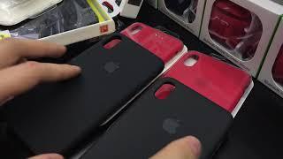 Оригинальные чехлы Apple iPhone XS Max silicon case - за что платим 4.000₽ ???
