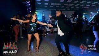 Karel Flores & Brandon Ayala - salsa social dancing | Mamboland Milano 2018