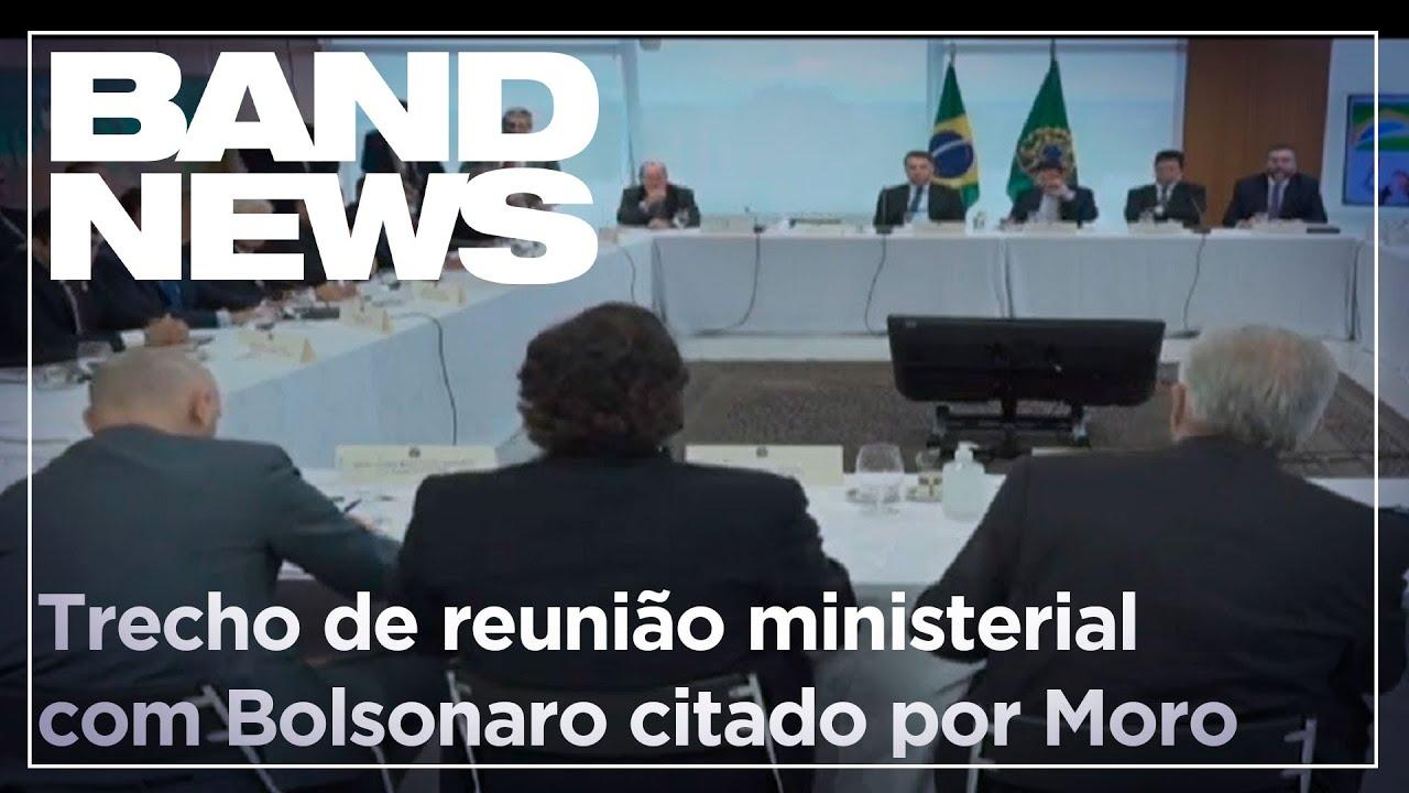 Notícias - Confira parte do vídeo de reunião ministerial com Bolsonaro citado por Moro - online