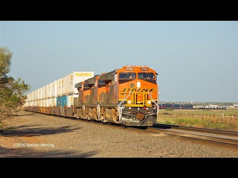 Texas Panhandle Railroading Action September 2016 (HD)