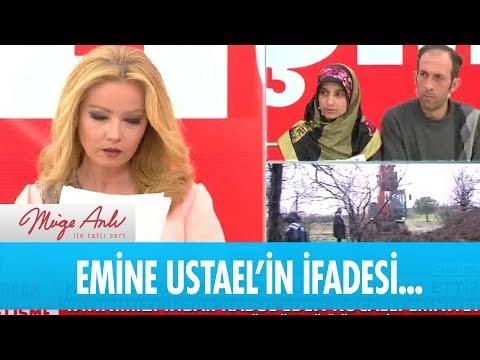 Emine Ustael'in karakola verdiği ifade - Müge Anlı ile Tatlı Sert 4  Ocak  2019