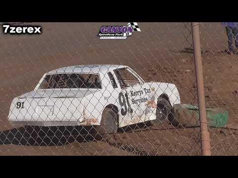 IMCA Stock Cars Heat 3 Canyon Speedway Park 1-26-2020