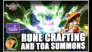 SUMMONERS WAR : 300+ Summons & Rune Crafts for guildmate