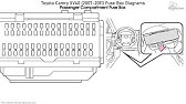 2011 Toyota Camry Fuses Under The Dash How To By Toyota City Minneapolis Mn Youtube