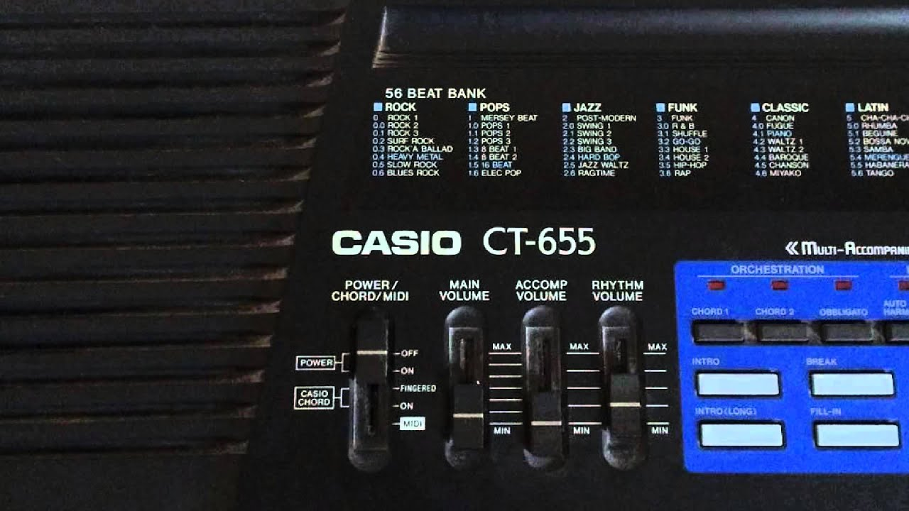 casio ct 655 keyboard