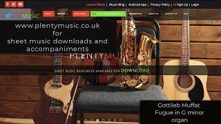 Muffat G. | Fugue in G minor (organ)