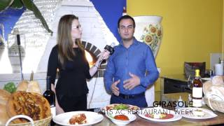 GIRASOLE - 2015 Atlantic City Restaurant Week