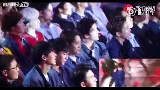 Phản ứng của EXO khi nghe Hoa Thần Vũ hát I Don't Care