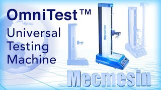 OmniTest universal testing machine - Mecmesin Force Measurement Systems