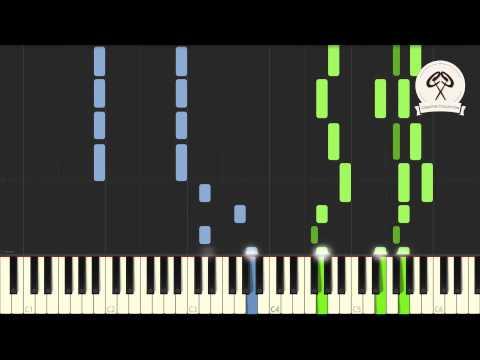 Far East Movement - Rocketeer Piano Tutorial & Midi Download
