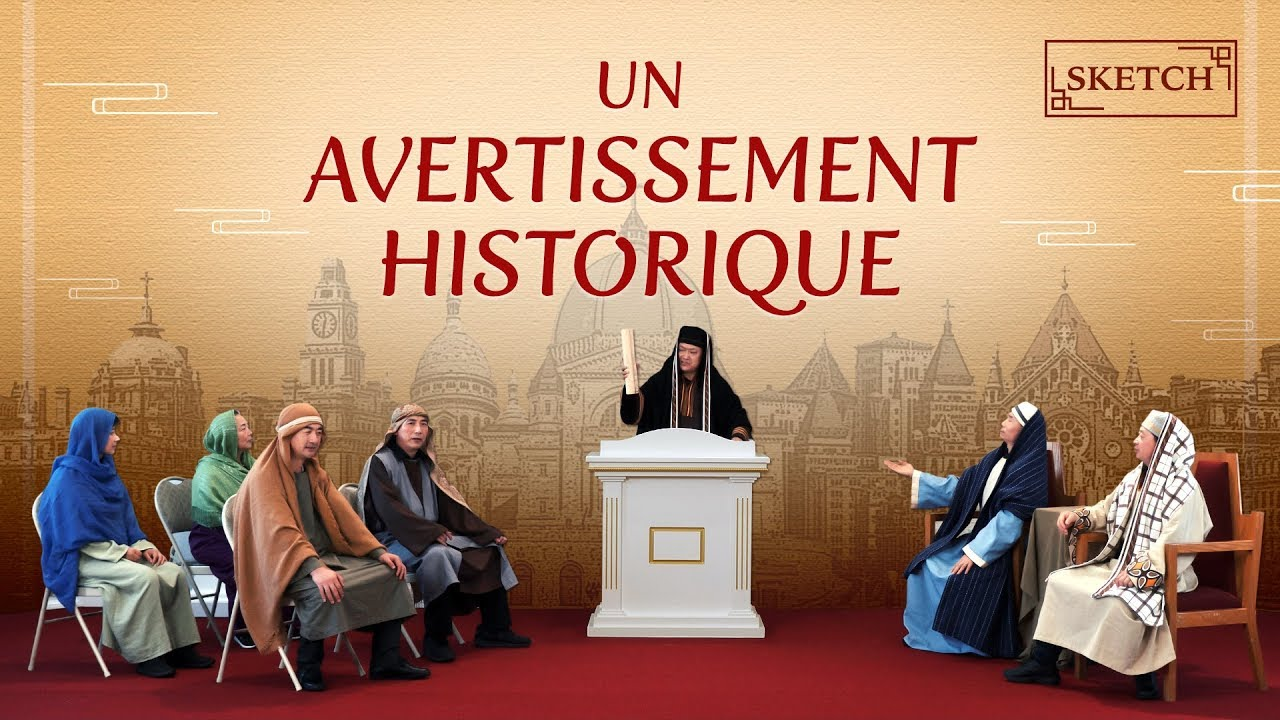 Sketch chrétien - Un avertissement historique