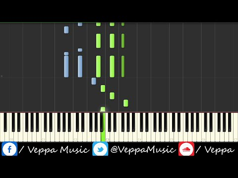 Piano Medley Tutorial - By Veppa Music (Synthesia)